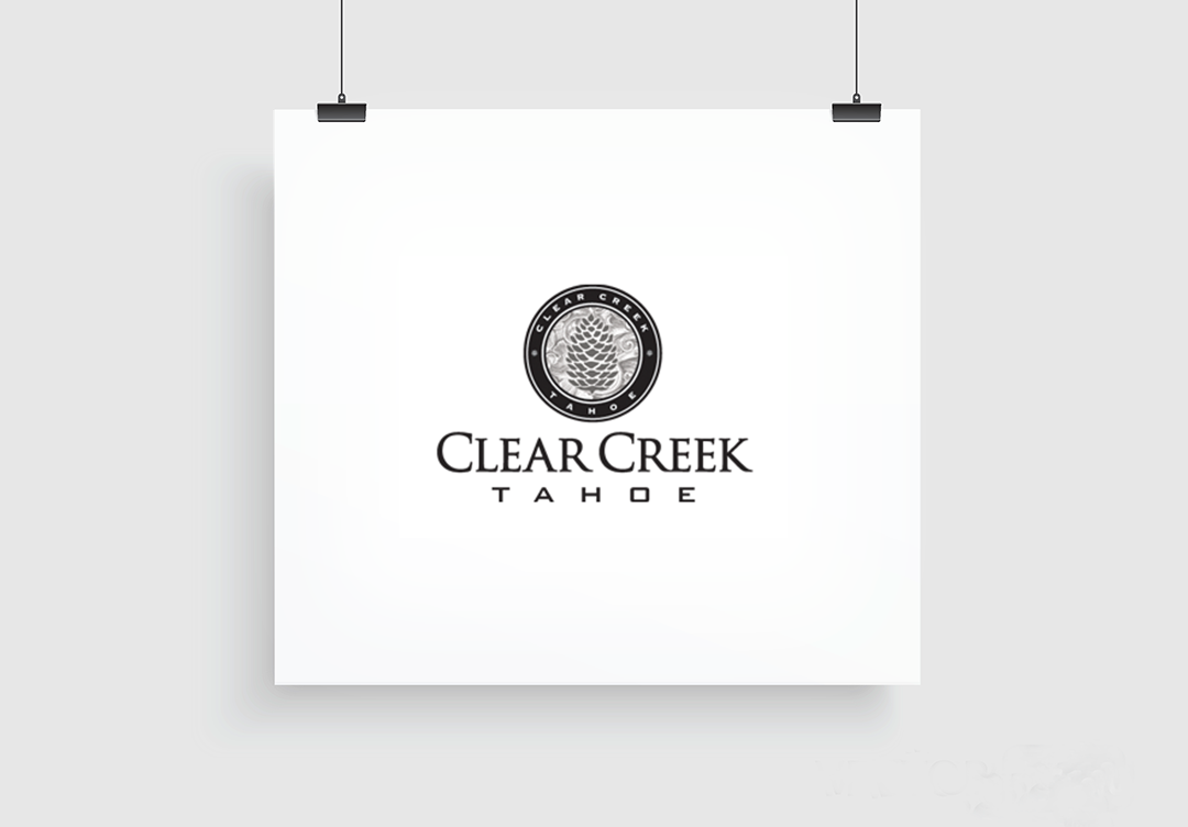 Branding: Agency / Client: Spiker Communications, Clear Creek Tahoe Resort