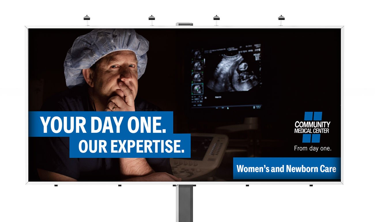 Billboard: Agency / Client: Community Medical Center