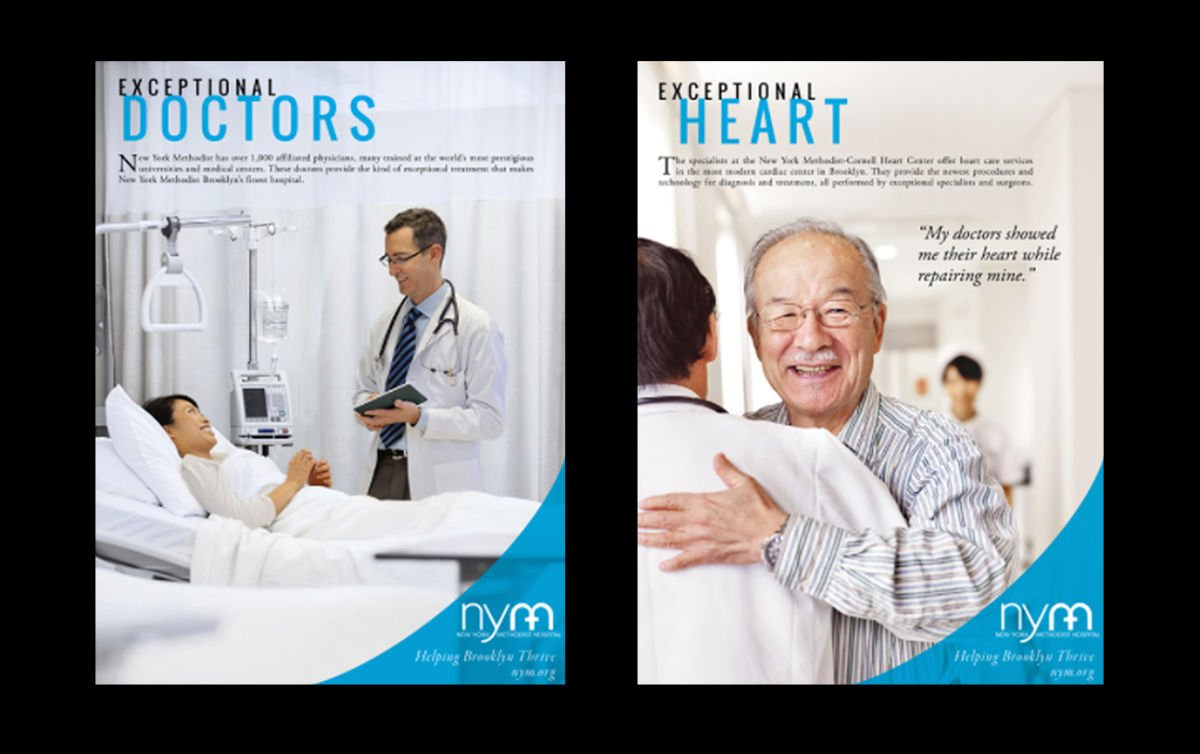 Print advertising: Agency / Client: Furman Roth, New York Methodist Hospital