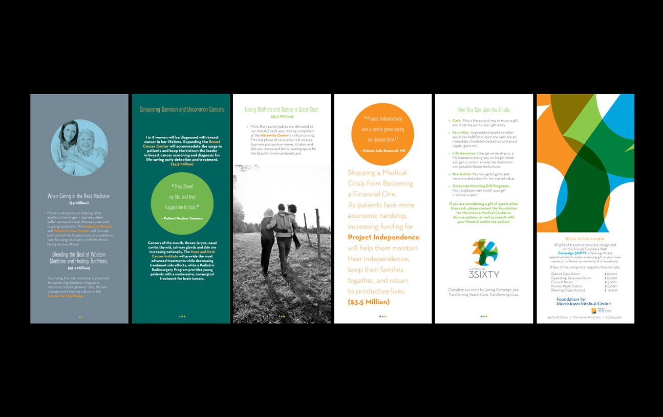 Print collateral: Agency / Client: Morristown Medical Center