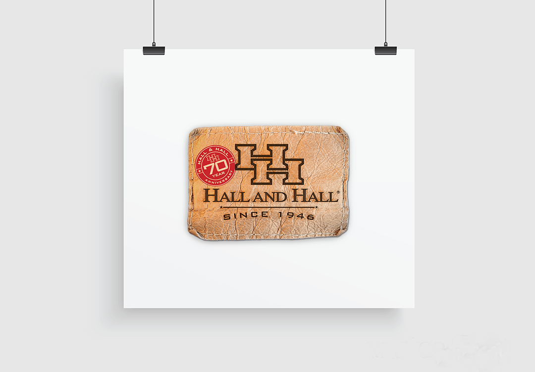 Branding: Agency / Client: Hall and Hall, Hall and Hall 70th Year Anniversary