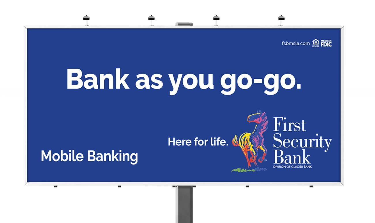 Billboard: Agency / Client: First Security Bank