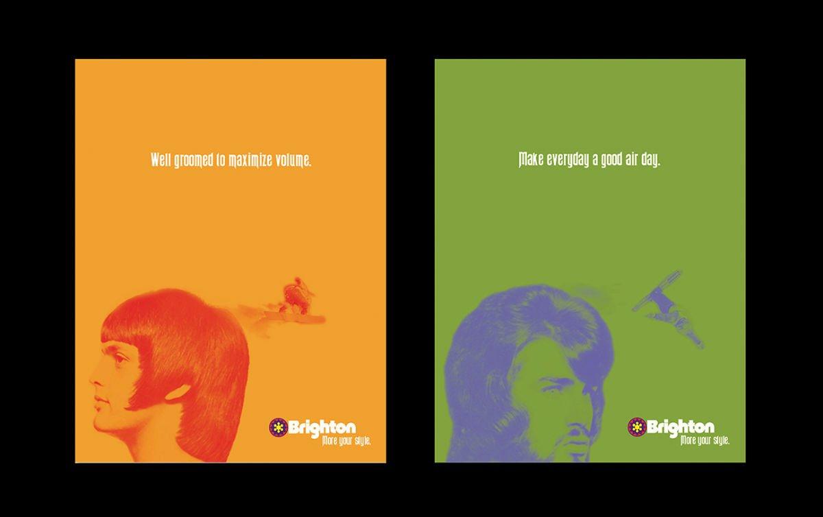 Print advertising: Agency / Client: Spiker Communications: Brighton Resort