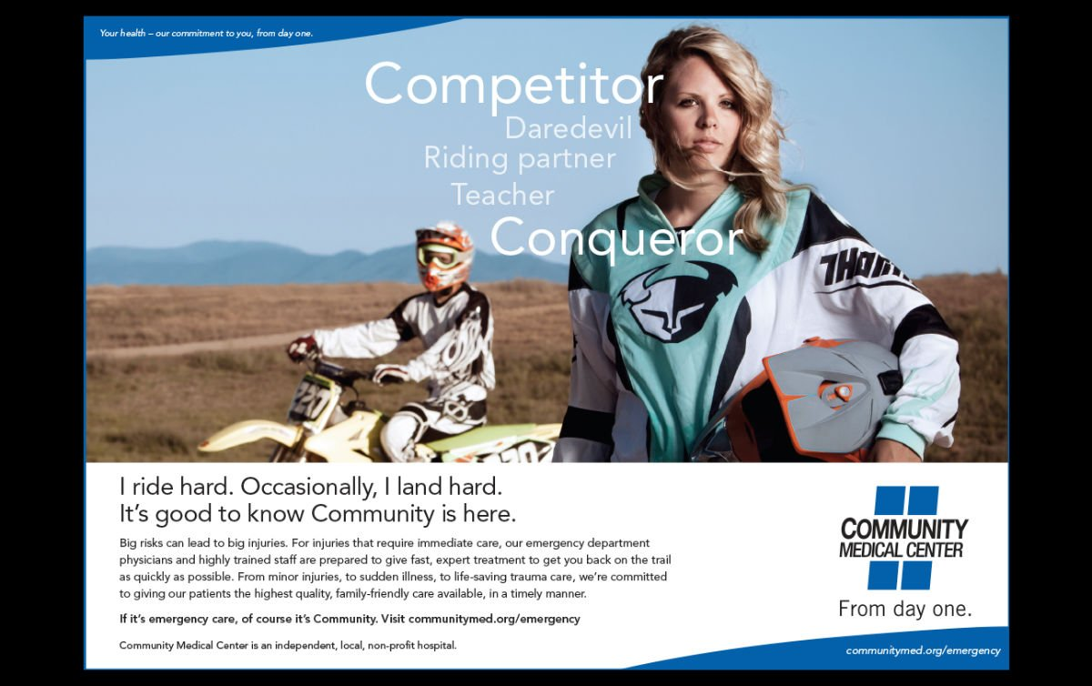 Print advertising: Agency / Client: Community Medical Center