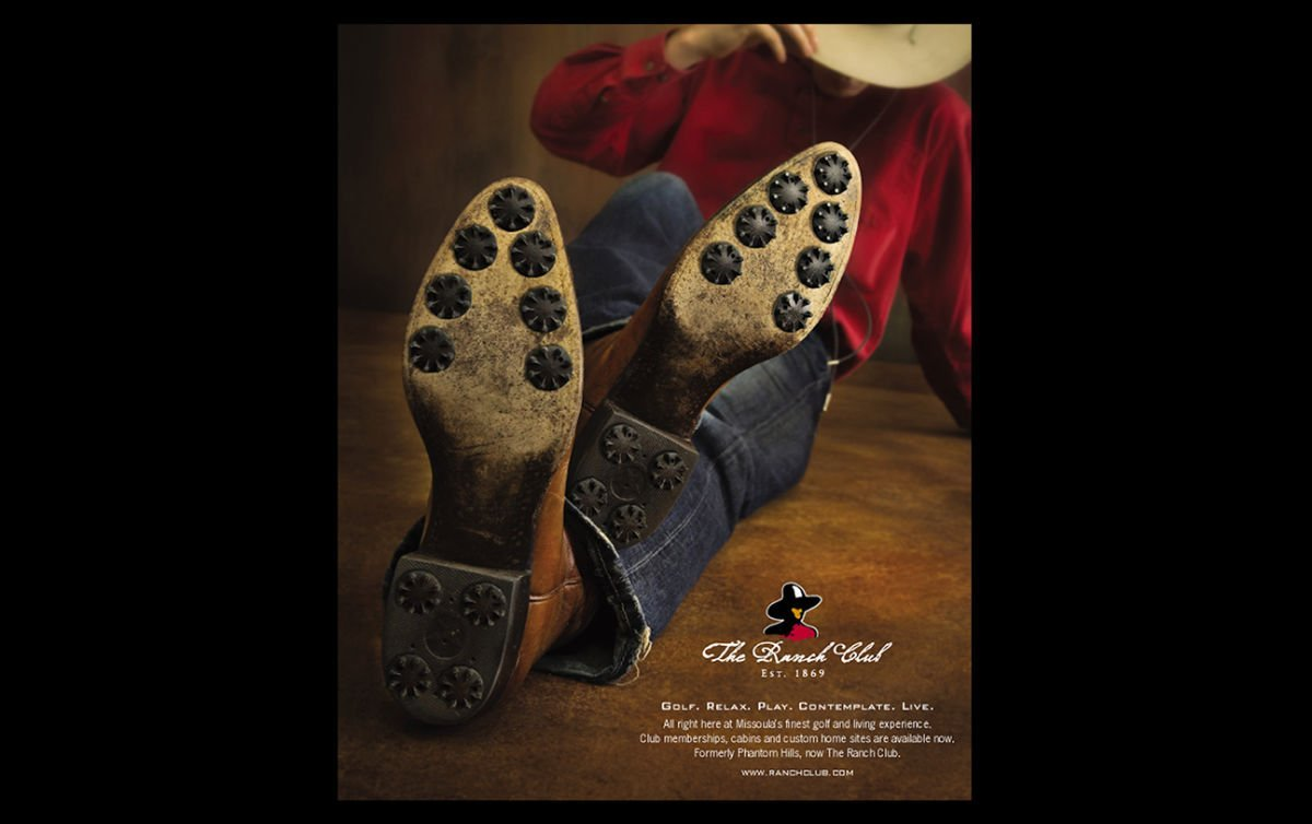 Print advertising: Agency / Client: Spiker Communications: The Ranch Club